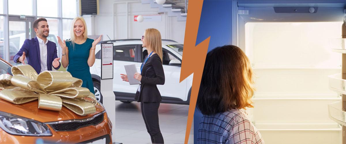 Auto Kühlschrank Pärchen
