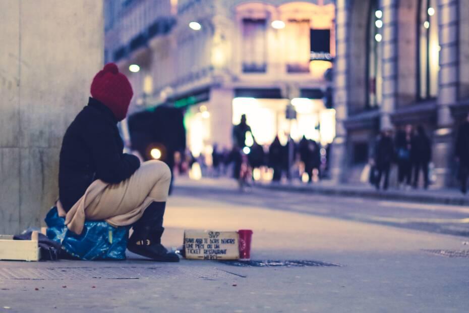 Obdachlos-Armut-HartzIV
