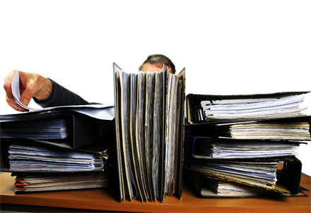 Bürokratie in Jobcentern