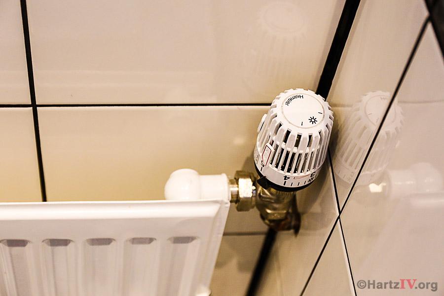 Heizkosten Heizkörper Thermostat
