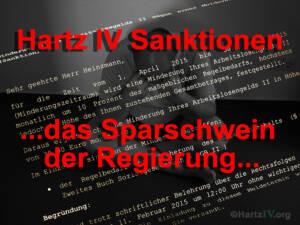 Staat spart mit Hartz IV Sanktionen fast 2 Milliarden Euro