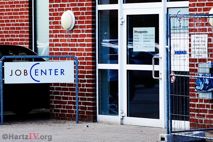 Jobcenter Hartz IV Bürogebäude Amt Arbeitsagentur