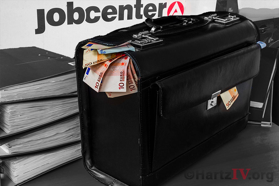 Geld Koffer Hartz4
