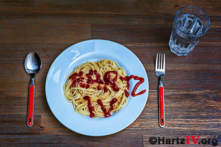 Nudeln Ketchup Hartz 4