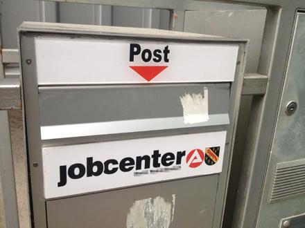 jobcenter briekasten büro