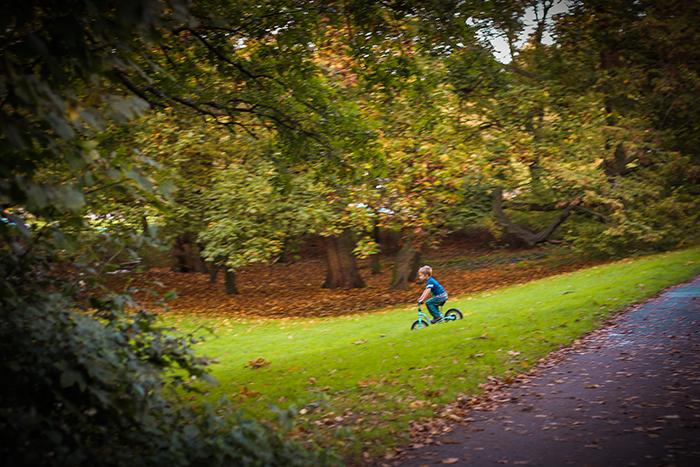 Kind Fahrrad Park Hartz4