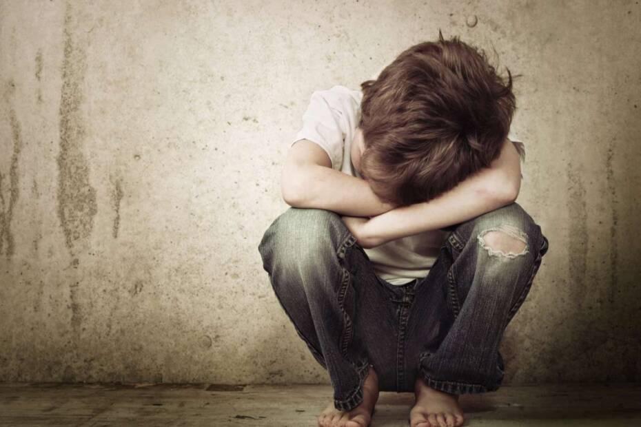 Trauriger Junger