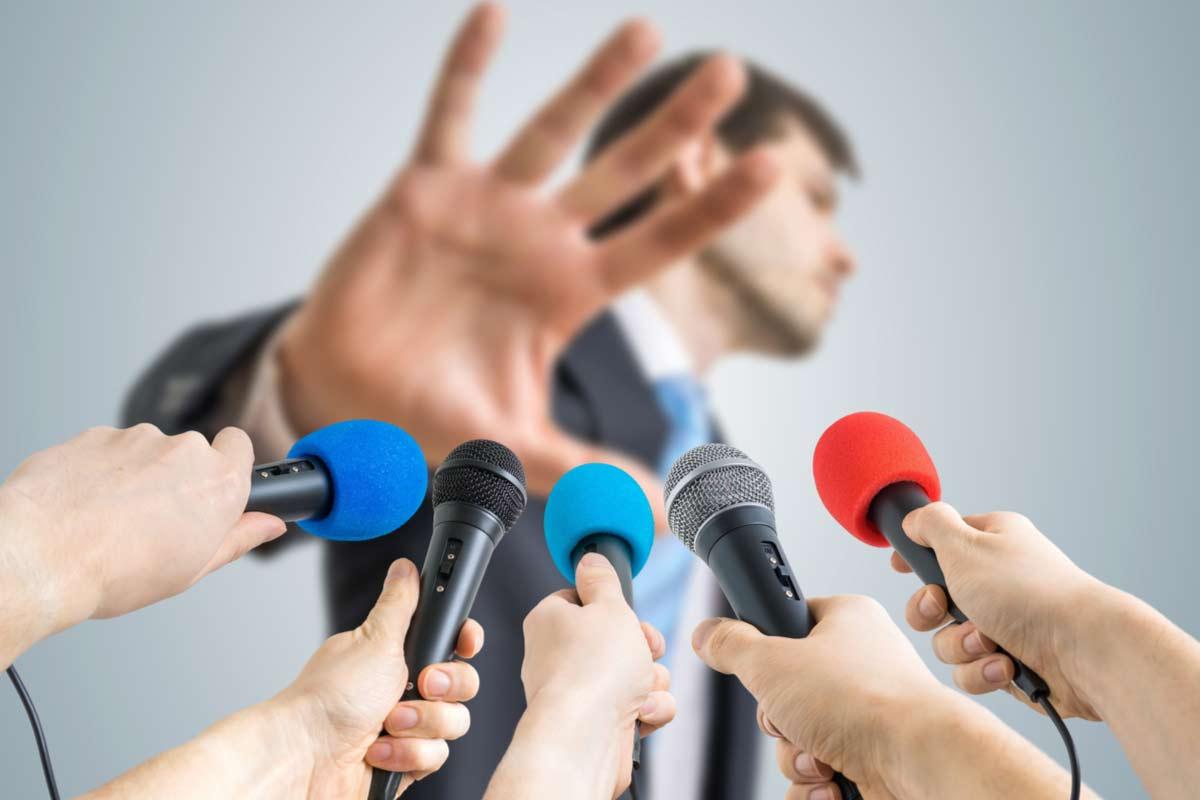 Politiker verweigert Presseinterviews