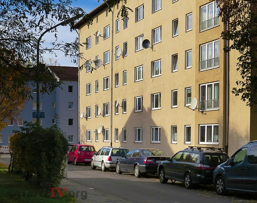 Mehrfamilienhaus Hartz IV
