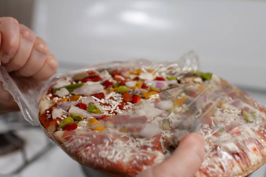 Tiefkühl Pizza