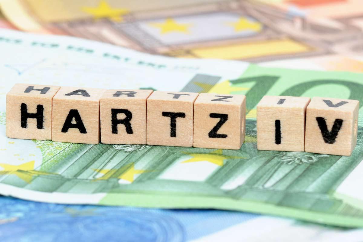 "Buchstabenblöcke ""Hartz IV"""