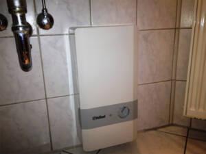Durchlauferhitzer Warmwasser