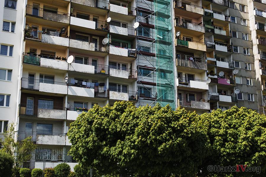 Hartz IV deckt Wohnkosten nicht - Mieten zu teuer!