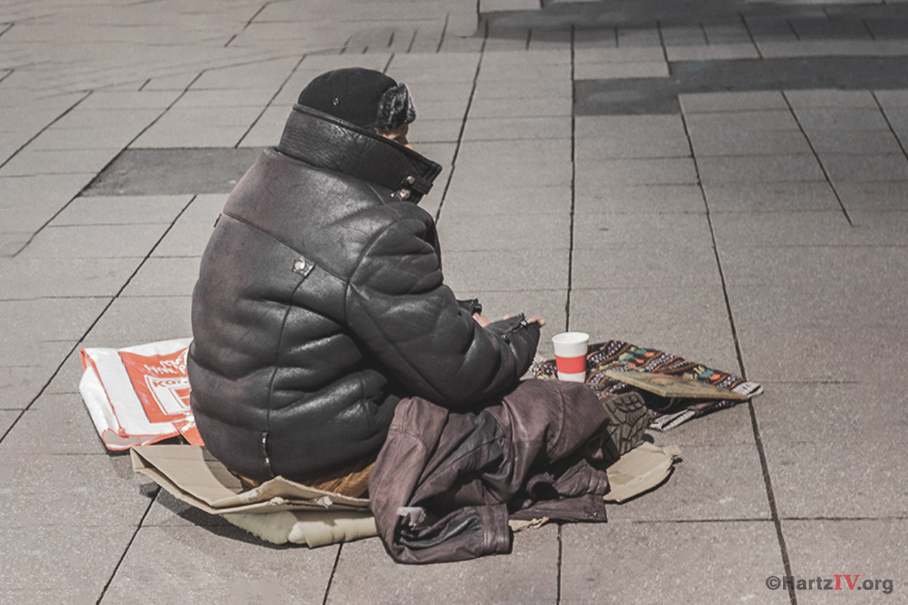 Obdachlos Straße keine Wohnung