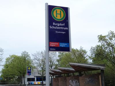 Busstation Schulzentrum