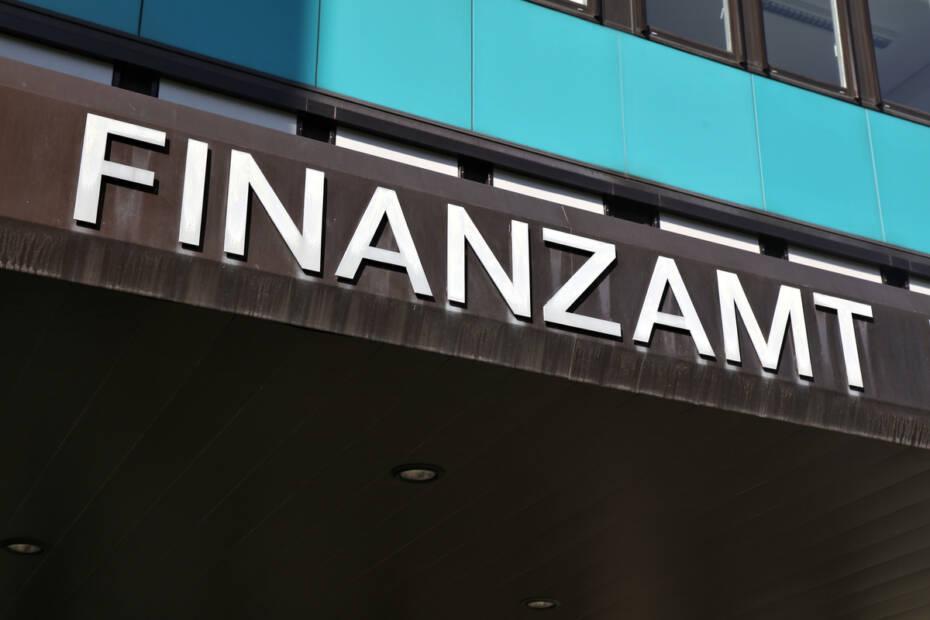 Eingang Finanzamt